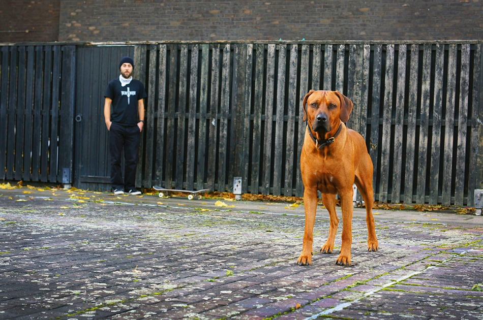 adam johners johns flicknife clothing for skateboarding london dog