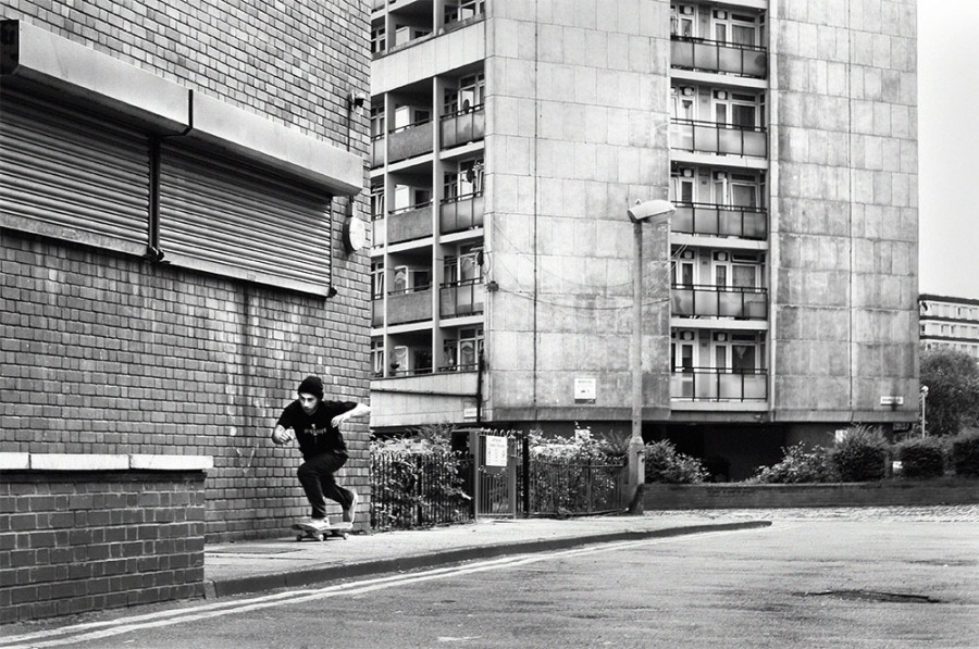 adam johners johns pushing south lonon skateboarding flicknife clothinf photo jamie harrison