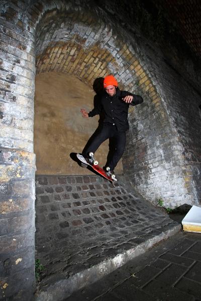 James Hall Casper stall london street skating flicknife clothing for skateboarding