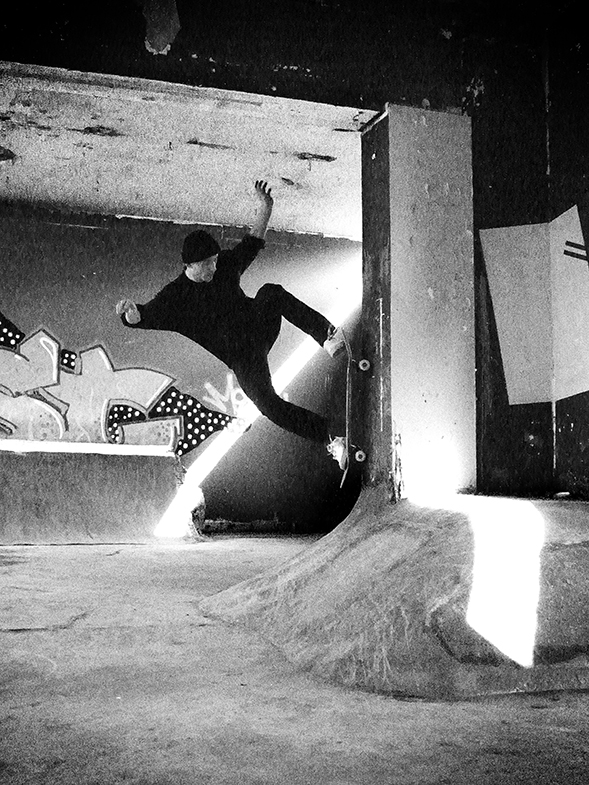 joe coward flicknife clothing london skateboarding hobo's palace diy skateboarding