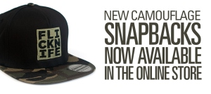 5 panel snapback release flicknife clothing london skateboarding skating