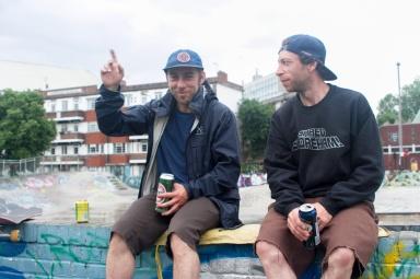 stockwell demolition derbyhosted by brixtons baddest flicknife clothing london skateboarding johners stevie thompson l